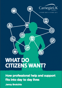 Carnegie Trust UK What Do Citizens Want cover