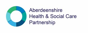 logo for Aberdeenshire Health and Social Care Partnership